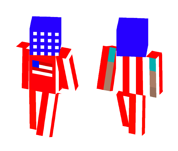 Alive and Free-America - Other Minecraft Skins - image 1