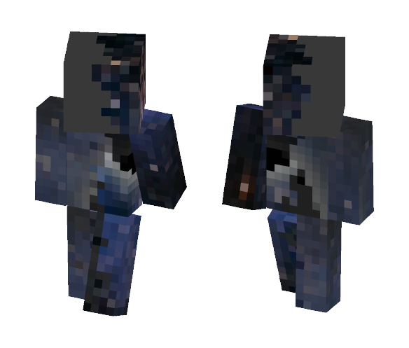 Duo Black/Grey blackhole - Other Minecraft Skins - image 1