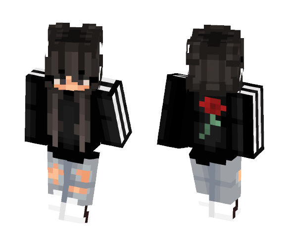 Sleepless girl . - Girl Minecraft Skins - image 1
