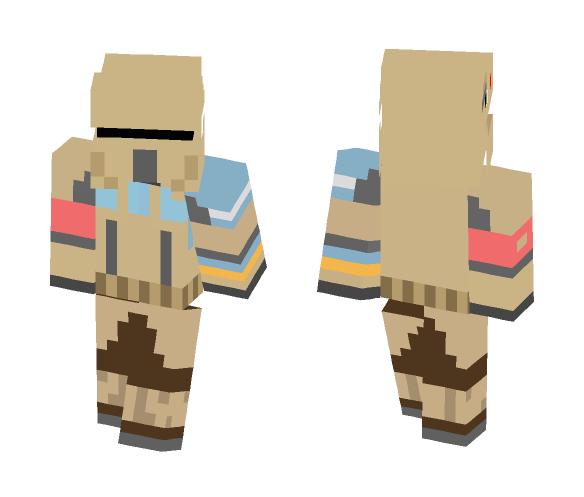 sand trooper - Male Minecraft Skins - image 1