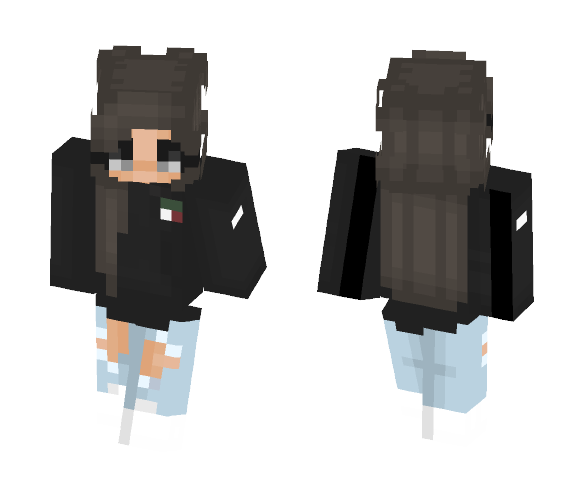 merely feel in love ♥ - Female Minecraft Skins - image 1