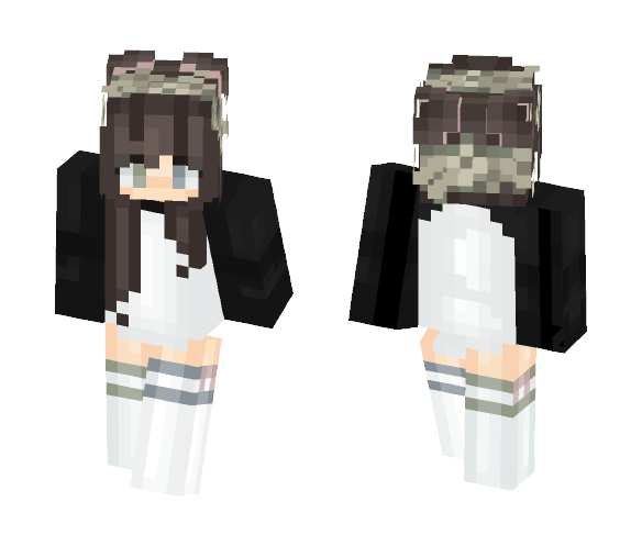 »Infinitely fair minded« - Female Minecraft Skins - image 1