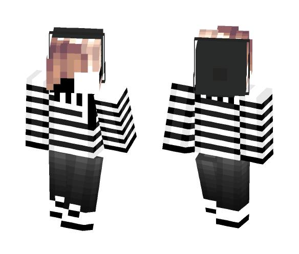 ~ Aquward Silence ¬ - Male Minecraft Skins - image 1