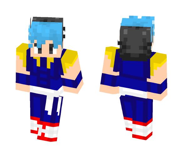 SSB Gogeta (4D Movie) - Male Minecraft Skins - image 1
