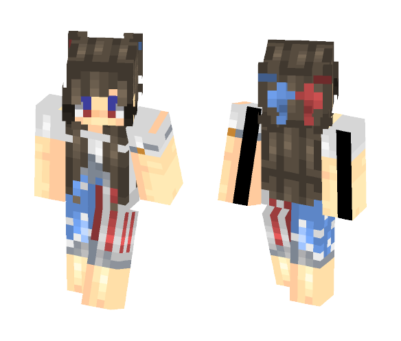 4th - Female Minecraft Skins - image 1
