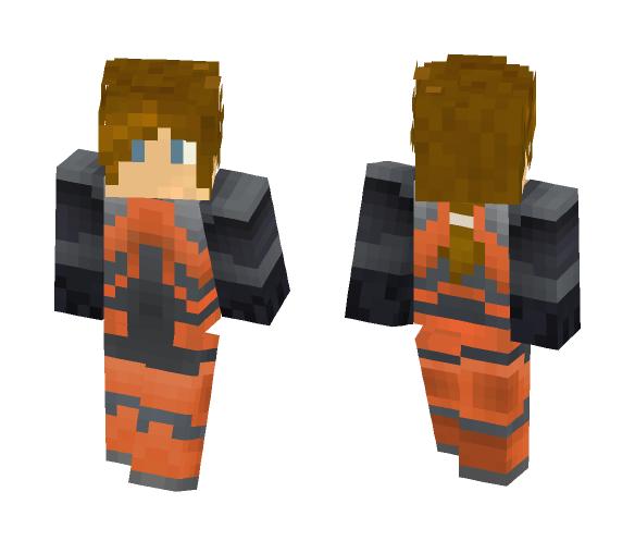 Hazmat Man - Male Minecraft Skins - image 1