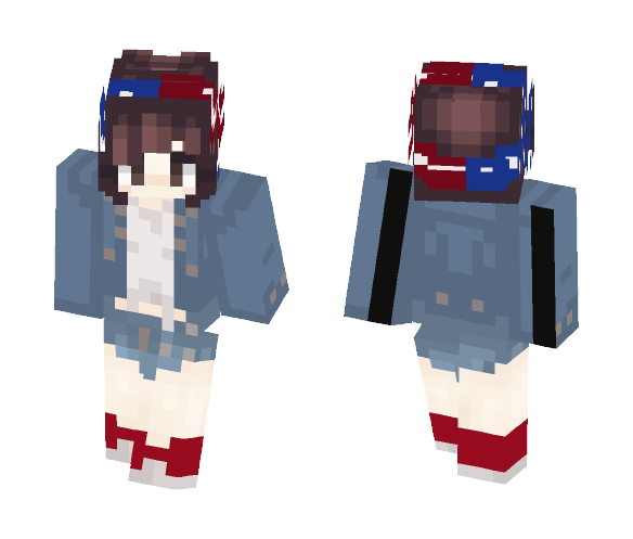 HAPPY FOURTH OF JULY PPL - Female Minecraft Skins - image 1