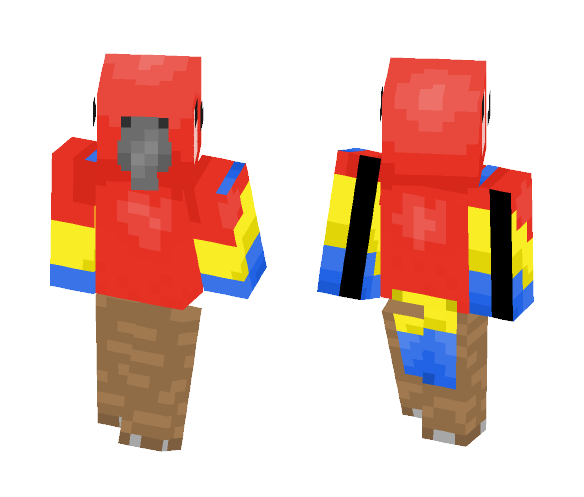 Mr. Parrot - Male Minecraft Skins - image 1