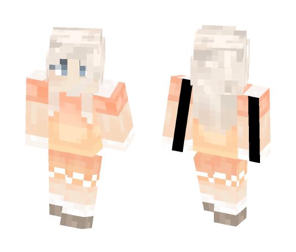 sunset snowfall - Female Minecraft Skins - image 1
