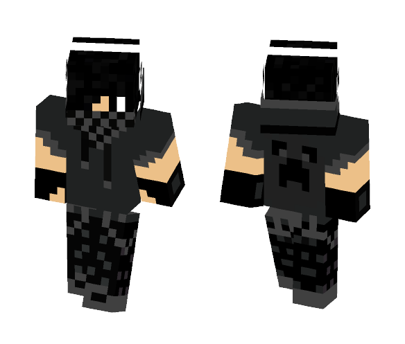 Black Bandit - Male Minecraft Skins - image 1