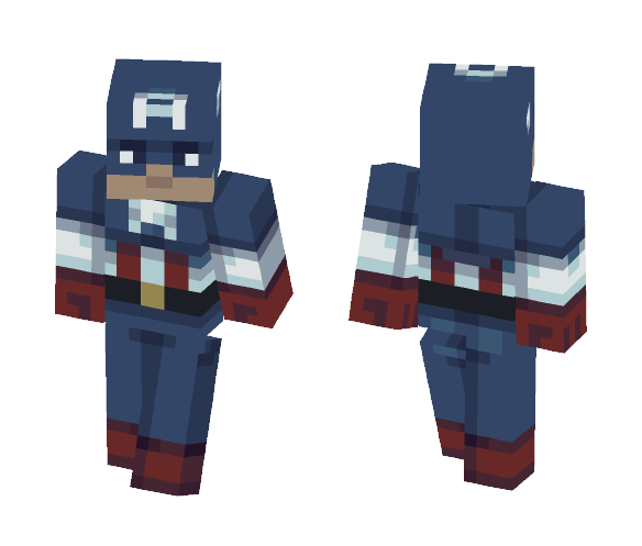 Captain America - Comics Minecraft Skins - image 1