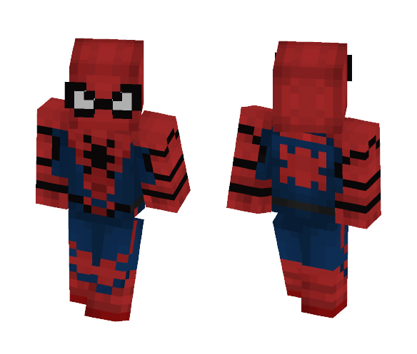 SpiderMan Homecoming - Comics Minecraft Skins - image 1