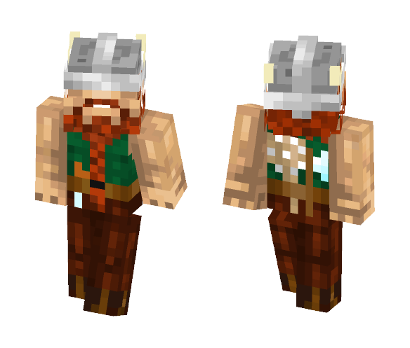 Wiking Hägar - Male Minecraft Skins - image 1