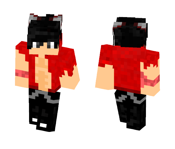 Riped Wolfy Aaron - Male Minecraft Skins - image 1