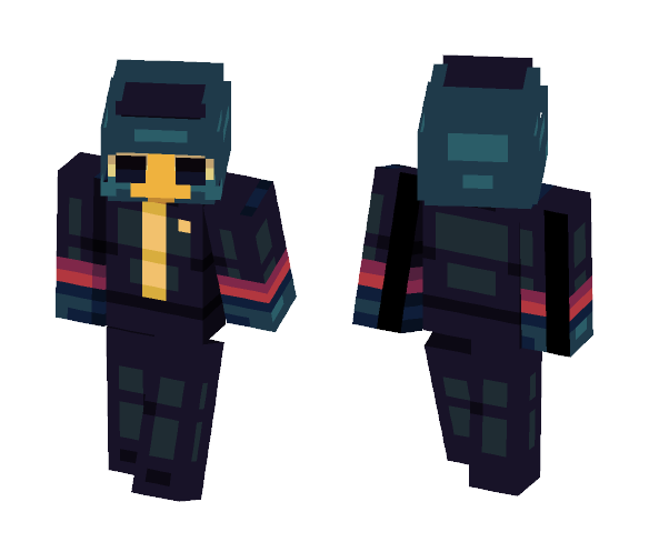 Germ -- ヅ Night in the Woods ヅ - Male Minecraft Skins - image 1