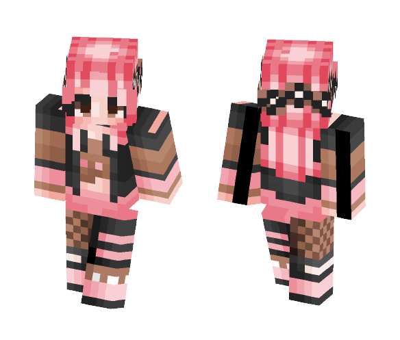 ♡ Pastel Western Days ♡ - Female Minecraft Skins - image 1