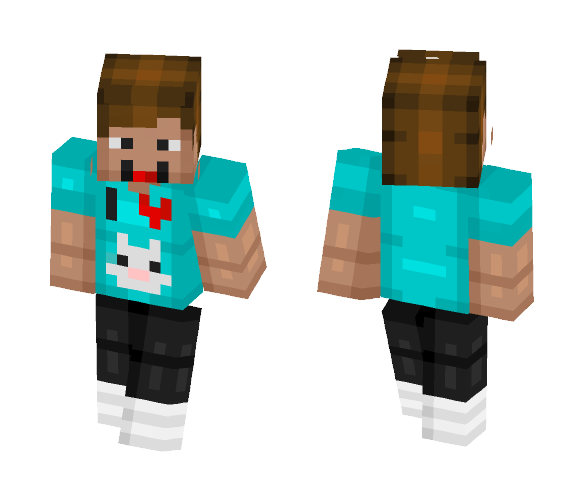 DenisDaily (Youtuber) - Male Minecraft Skins - image 1