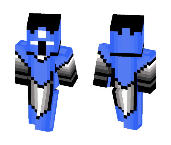 Blue Knight - Male Minecraft Skins - image 1