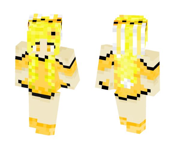 Dandelion Bunny Form - Female Minecraft Skins - image 1