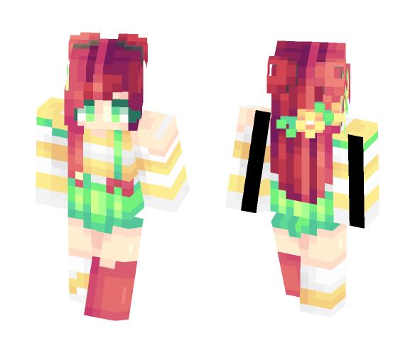 Tropical - Female Minecraft Skins - image 1