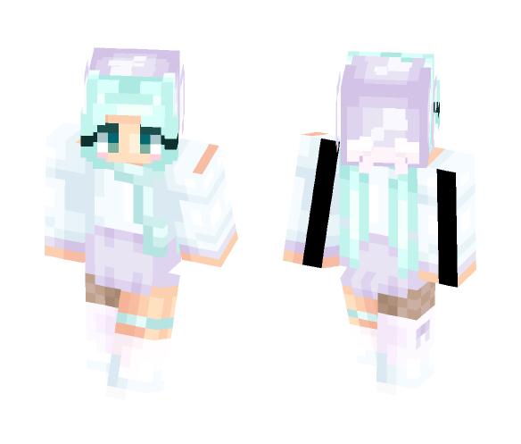 pastel wreck 2 - Female Minecraft Skins - image 1