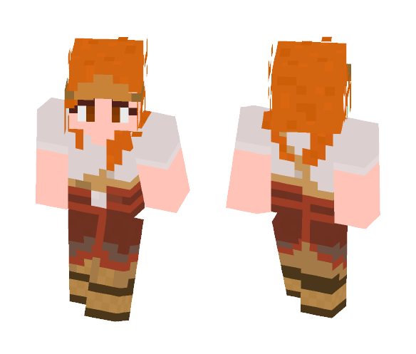 Aloy - Oseram Sparkworker Medium - Female Minecraft Skins - image 1