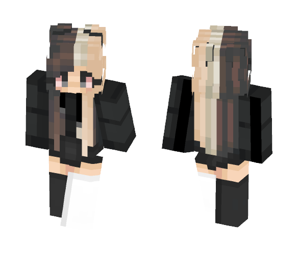 higher than a kite. // trashyy - Female Minecraft Skins - image 1