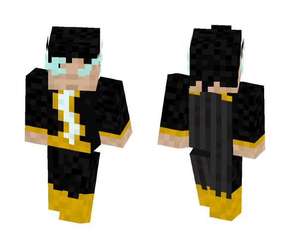 Black Adam - Male Minecraft Skins - image 1