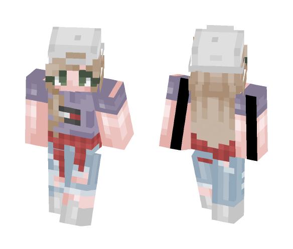 Happy fourth of july ???????? - Female Minecraft Skins - image 1