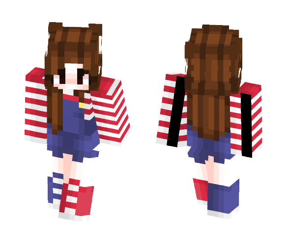 Happy Fourth of July !! - Female Minecraft Skins - image 1
