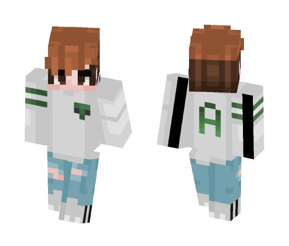 Alien #2 - Male Minecraft Skins - image 1