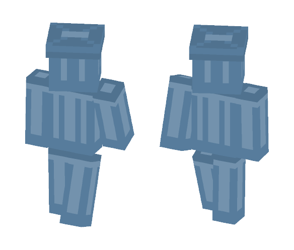 The Trash Man - Interchangeable Minecraft Skins - image 1