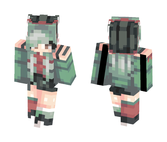 Watermelon - Female Minecraft Skins - image 1