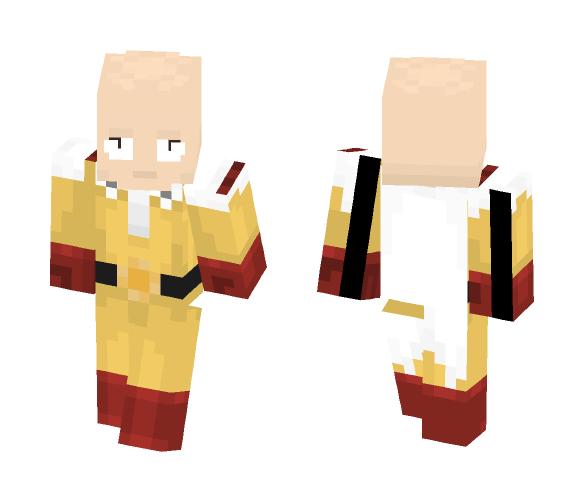 Saitama (One Punch Man) - Male Minecraft Skins - image 1