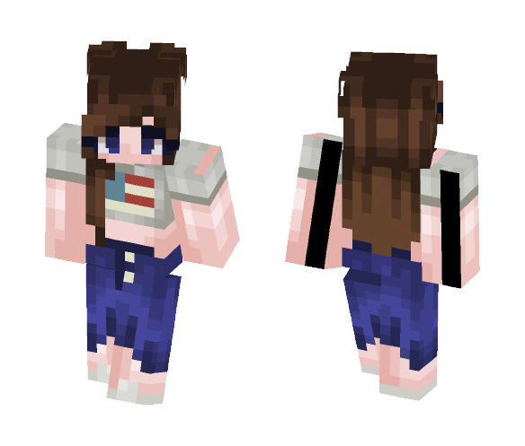 To early for fireworks? - Female Minecraft Skins - image 1