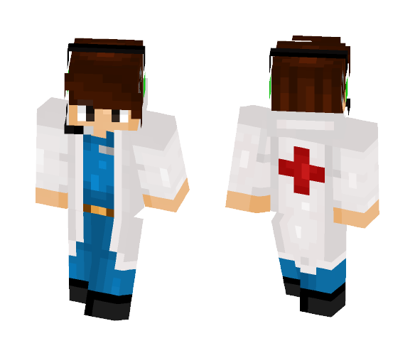 Skin Retexture for DrRedSkull - Male Minecraft Skins - image 1