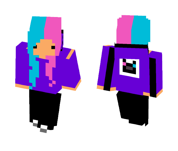 Chibbi Kitten - Female Minecraft Skins - image 1