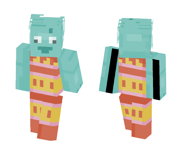 PaRappa Takayoma {Requested} - Other Minecraft Skins - image 1