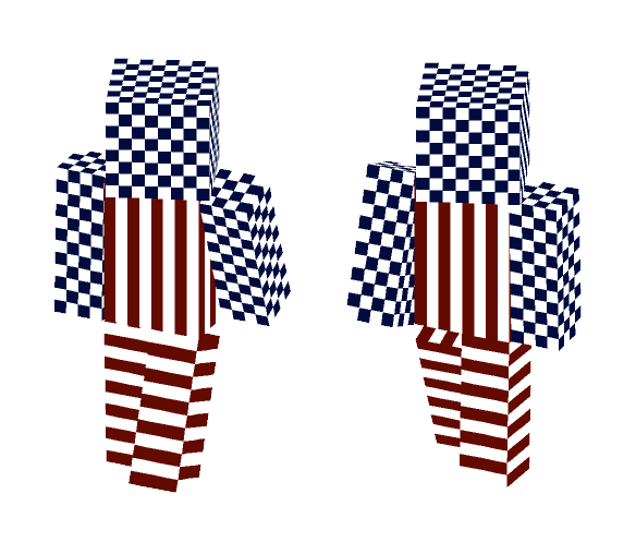 4th Of July American Flag - Male Minecraft Skins - image 1