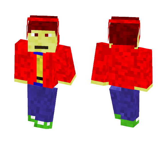 55522s. THE SKIN!! - Male Minecraft Skins - image 1