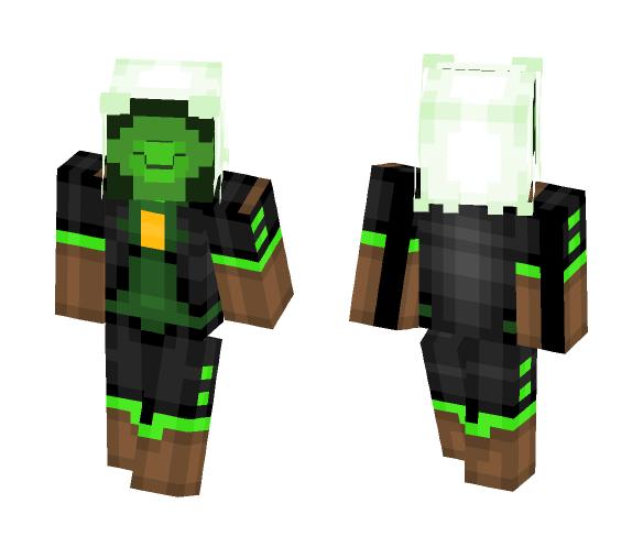 Yellow Dιαмoɴd Nepнrιтe - Female Minecraft Skins - image 1