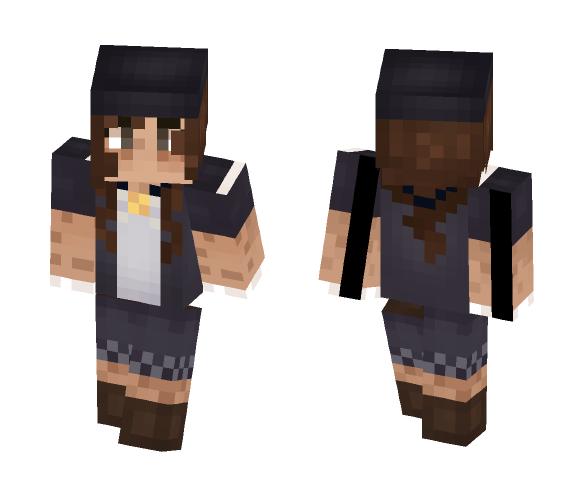 keyanda || garden - Female Minecraft Skins - image 1