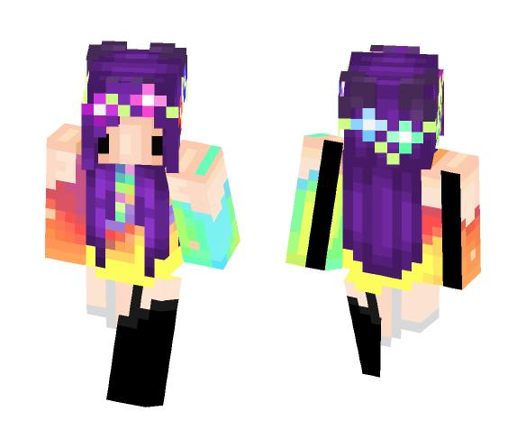 ♦ColourFulWonder♦ - Female Minecraft Skins - image 1