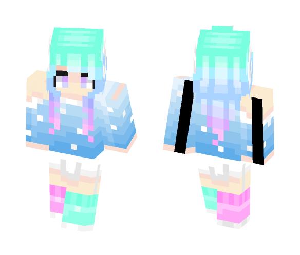 ⭐ - Cosmic - ⭐ - Female Minecraft Skins - image 1