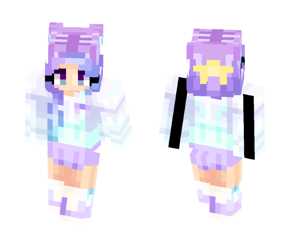 pastel wreck - Female Minecraft Skins - image 1