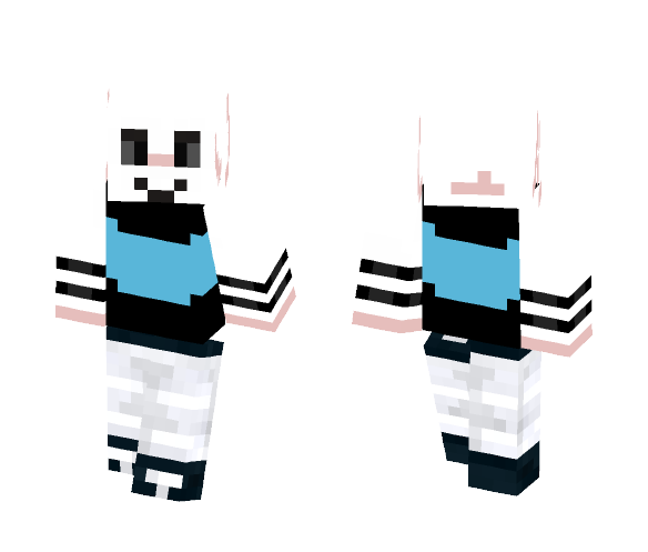 dark asriel (pufftale dark bubbles) - Male Minecraft Skins - image 1