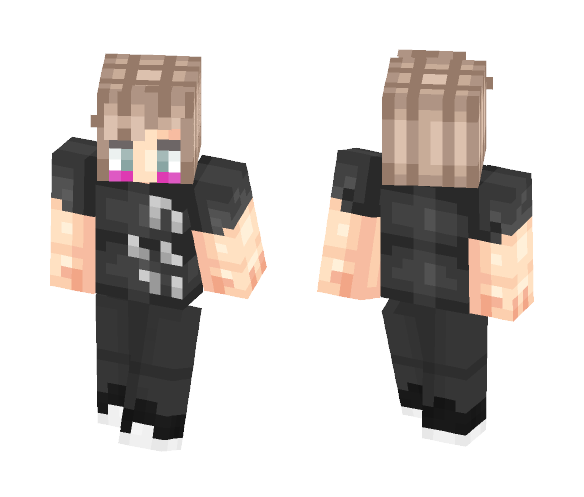 Isak From SKAM (Glow Party) - Male Minecraft Skins - image 1