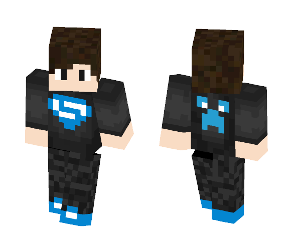 Ultimate Creeper Hero - Interchangeable Minecraft Skins - image 1