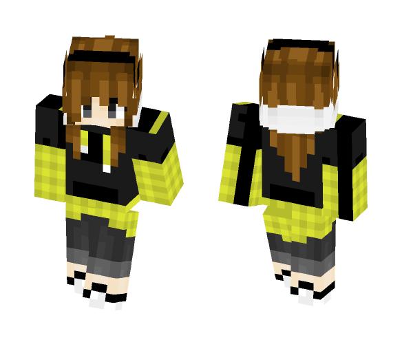 HighSchool Girl - Girl Minecraft Skins - image 1