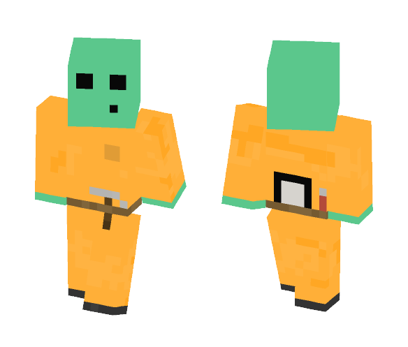 apprentice crafter slime1 - Interchangeable Minecraft Skins - image 1